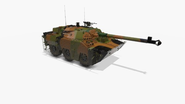 tank amx 3D model