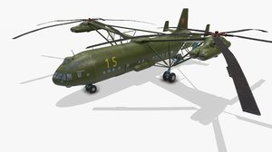 3D helicopter mi-12
