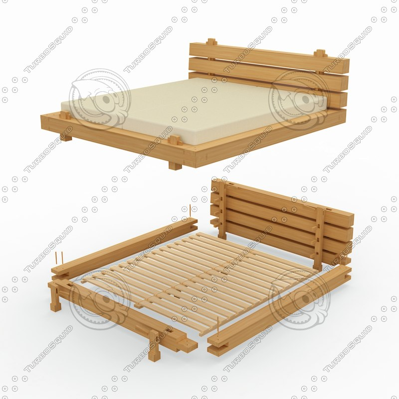 double bed model