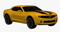 Chevrolet Camaro 2009 ( Convertible Concept ) Low Interior (Bumblebee)