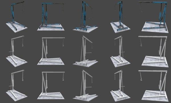 3D engine jack