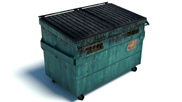 dumpster garbage 3D model