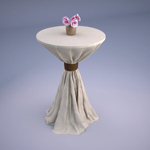 3D wedding table flowers
