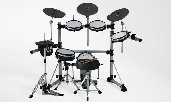 3D electronic drum kit