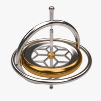 toy gyroscope 3D model