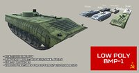 Low Poly BMP1 IFV