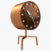 tripod clock 3D model