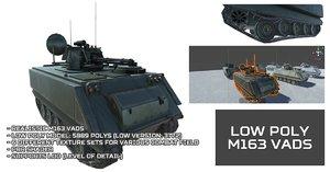 unity m163 vads polys model
