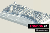 london city hyde park 3D model
