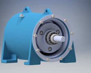 planetary gearbox 3D model
