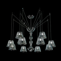 3D chandelier italamp adria lamp