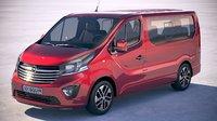 Opel Vivaro Pass 2015-2018 4-door