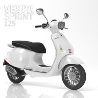 Vespa Sprint 125 White