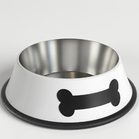 dog bowl 1 3D