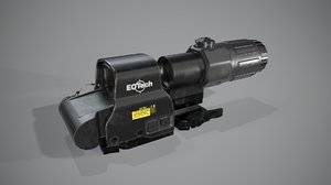 3D collimator holographic weapon sight