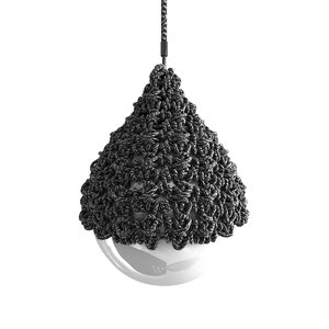 pendant lamp cordula cord 3D model