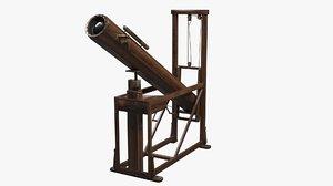 3D model telescope gershel
