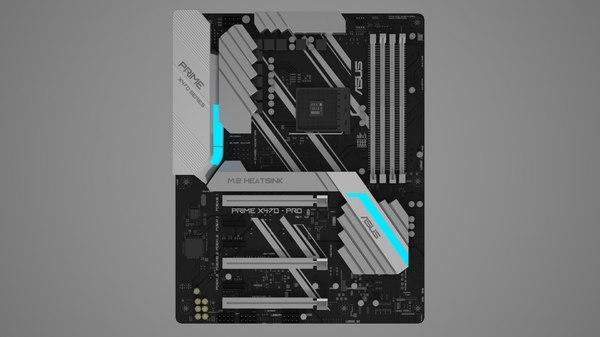 asus motherboard prime x470 3D