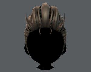 3D hair style boy v42