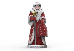 3D model santa claus printing