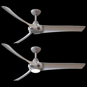 3D wind droid ceiling fan
