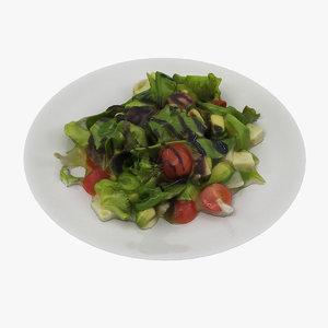 salad realistic 3D model