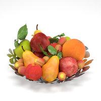 3D model ikea stockholm fruit bowl