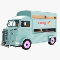 Citroen Ice Cream And Candy Truck