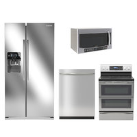 samsung microwave dishwasher 3D