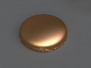 macarons mold hand 3D