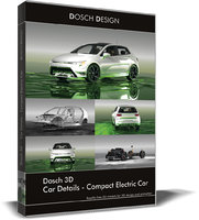 DOSCH 3D - Car Details - Compact Electric Car