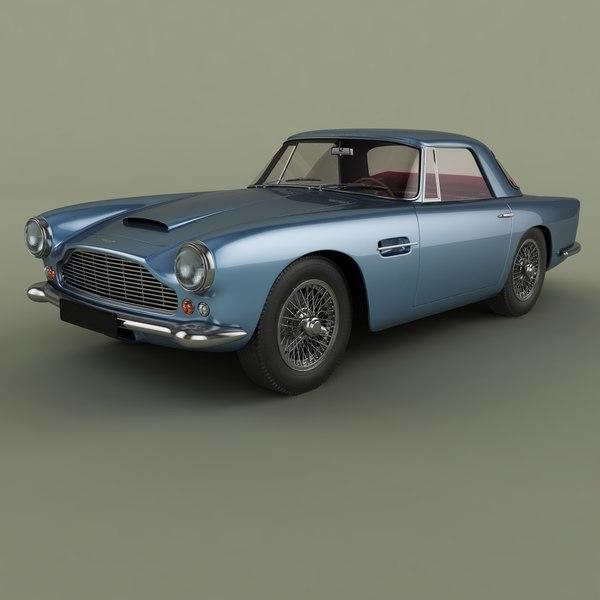 1962 aston martin db4 model