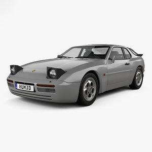 porsche 944 turbo 3D