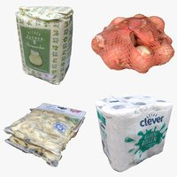 food packaging 3D model