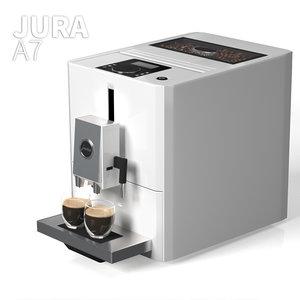 jura a7 coffee maker model
