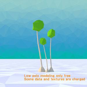 yucca tree 3D model