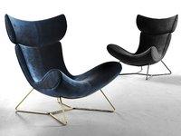 imola chair design 3D model