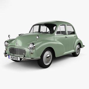 minor 1000 1962 model