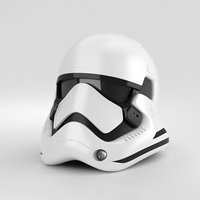 3D stormtrooper storm trooper