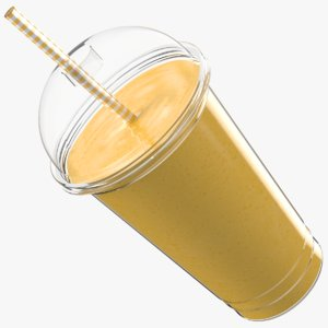 milk shake 3D model