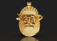 Achelous - God of rivers pendant
