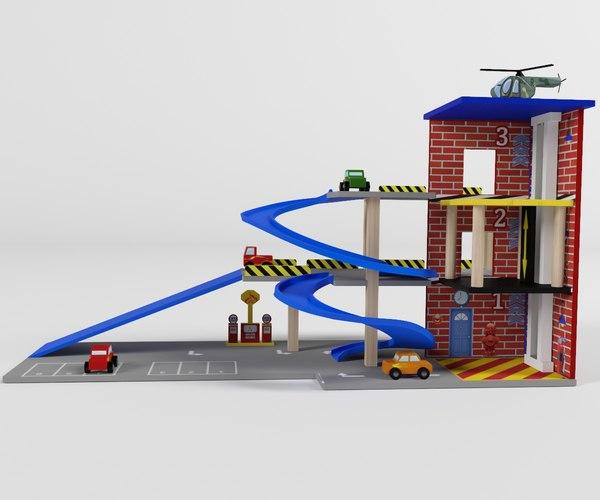 3D children s parking