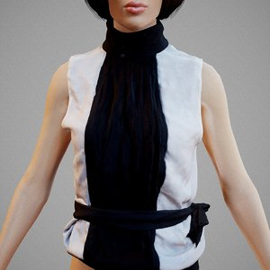 clothing 3D model