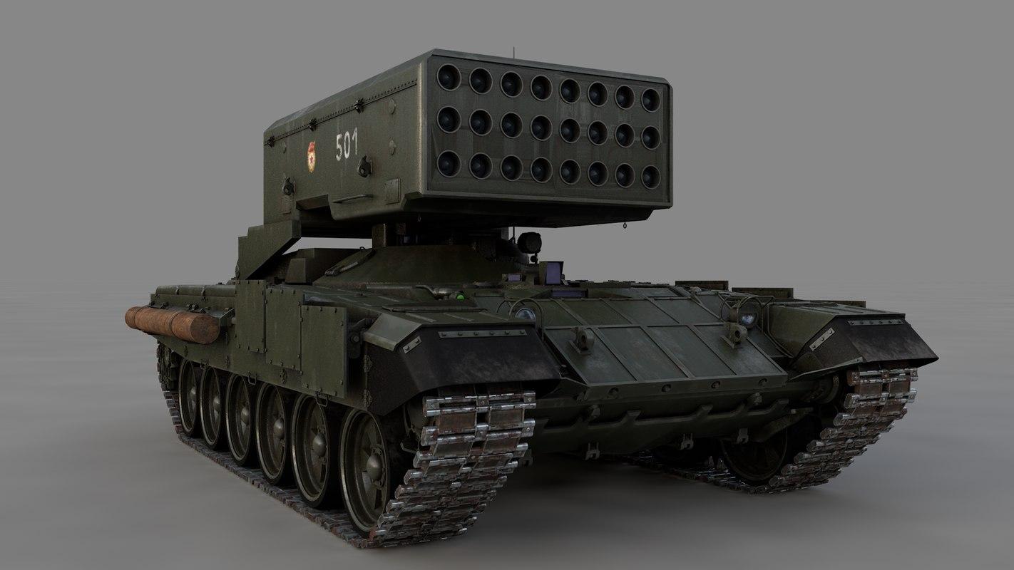 3D model russian solntsepek