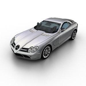 2004 mercedes-benz slr mclaren 3d model