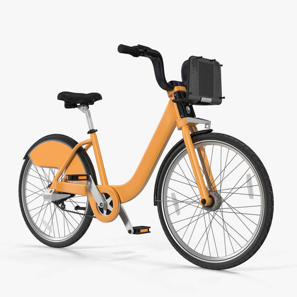 sharing bicycle generic 3D model