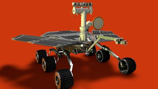 opportunity rover 3D model