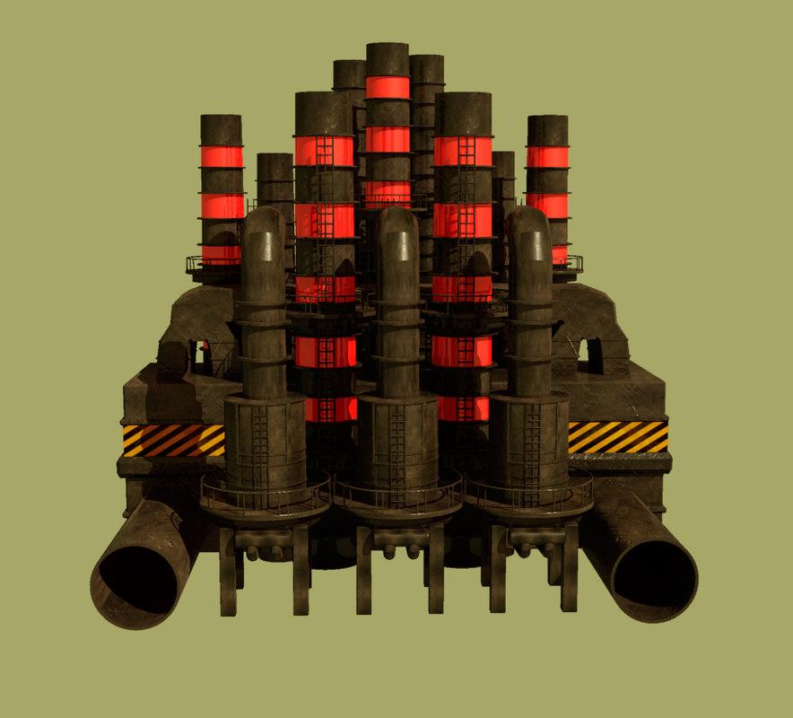 3D industria model