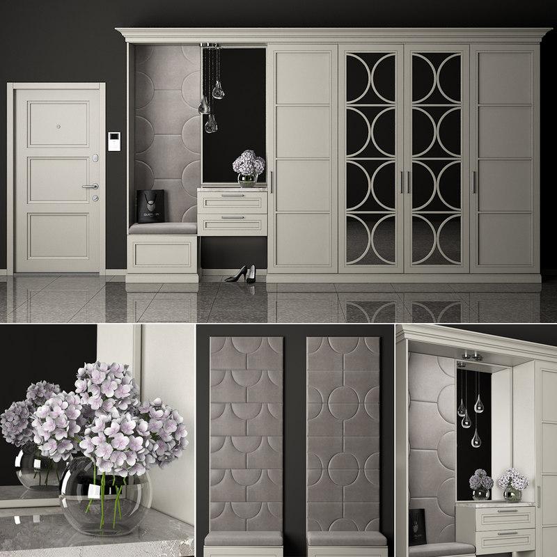 furniture composition 3D