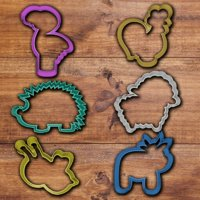Fancy Animals Cookie cutter set